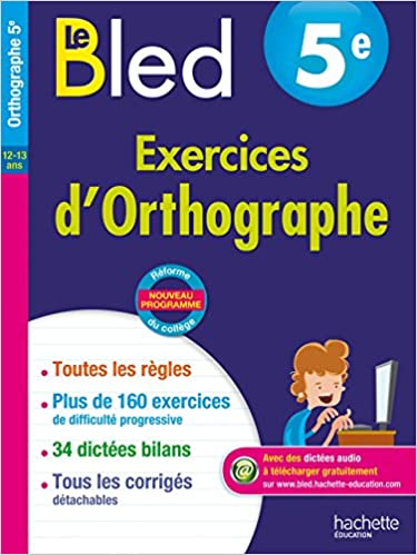 BLED 5e Exercices Orthographe