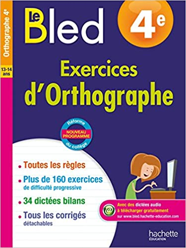 BLED 4e Exercices Orthographe