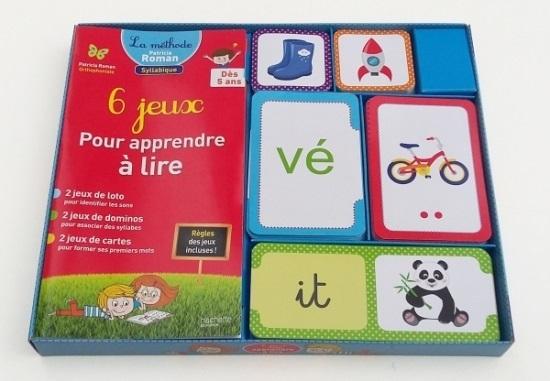 6 jeux pour apprendre a lire