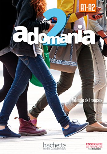 Adomania 2 Livre de l'eleve + CD-ROM (audio et video)