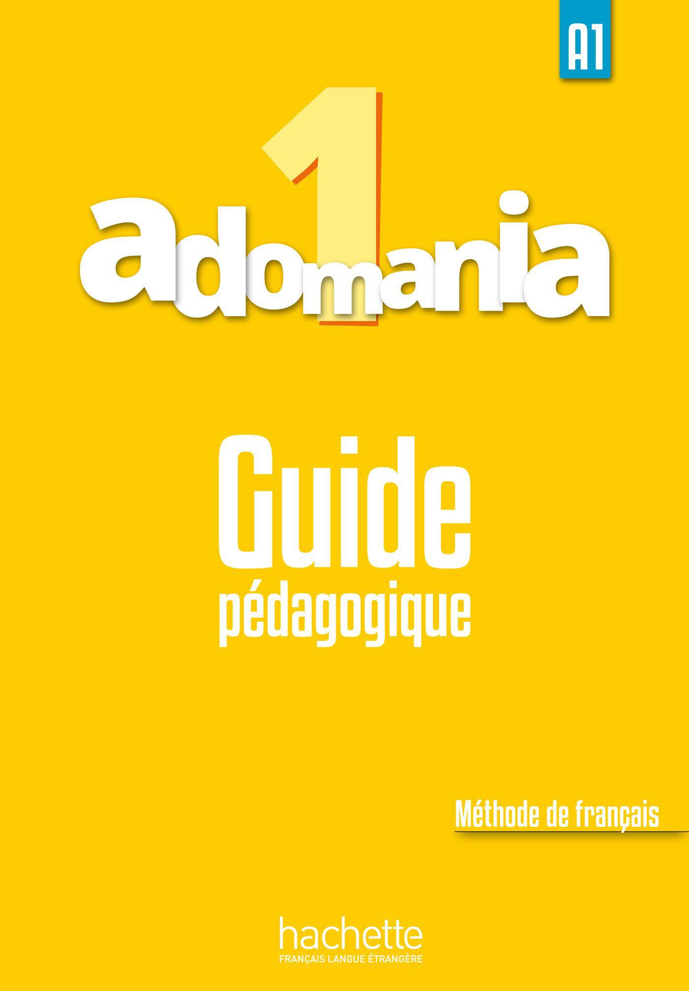 Adomania 1 Guide pedagogique
