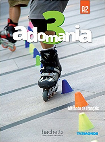 Adomania   Adomania 3 Livre de l'eleve + DVD-ROM (audio et video)