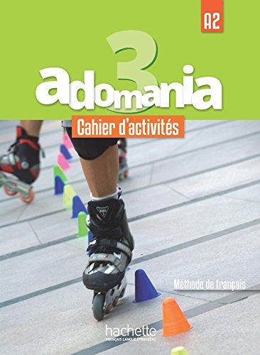 Adomania 3 Cahier + CD audio + Parcours digital