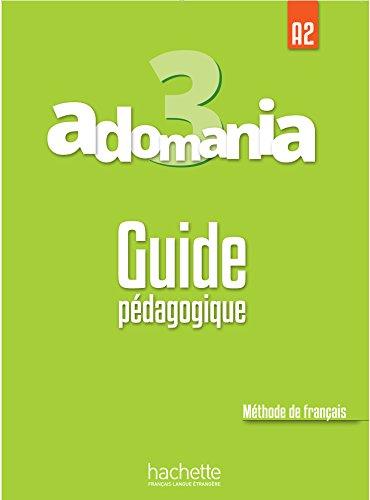 Adomania 3 Guide pedagogique