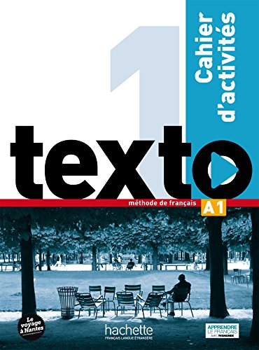 Texto 1 cahier d'activites + DVD-ROM