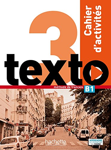 Texto 3 cahier d'activites + DVD-ROM
