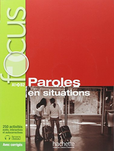 Paroles en situations + CD audio + Parcours digital