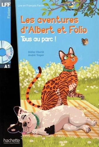 Albert et Folio : Tous au parc + CD