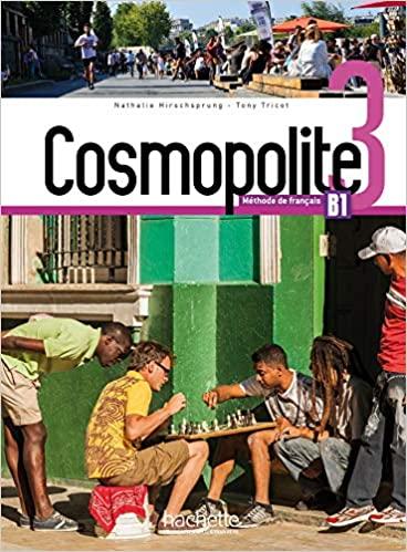 Cosmopolite 3 : Livre de l'eleve + DVD-ROM + Parcours digital