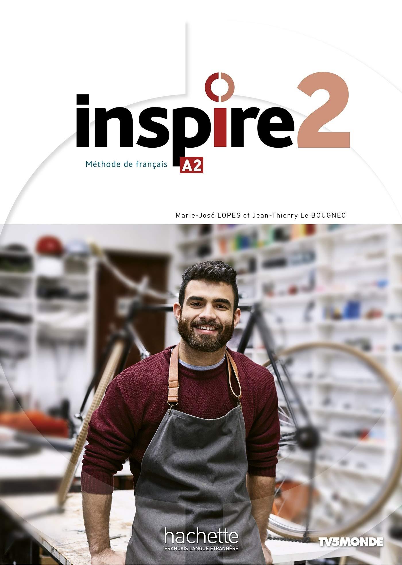 Inspire 2 : Livre de l'eleve + audio/video + Parcours digital