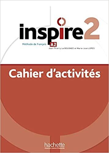 Inspire 2 : Cahier d'activités + audio MP3 téléchargeable