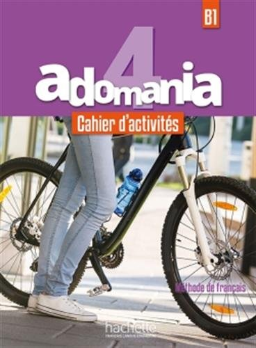 Adomania 4 Cahier + CD audio