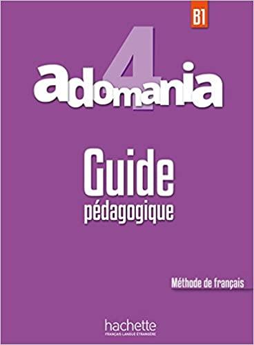 Adomania 4 Guide pedagogique