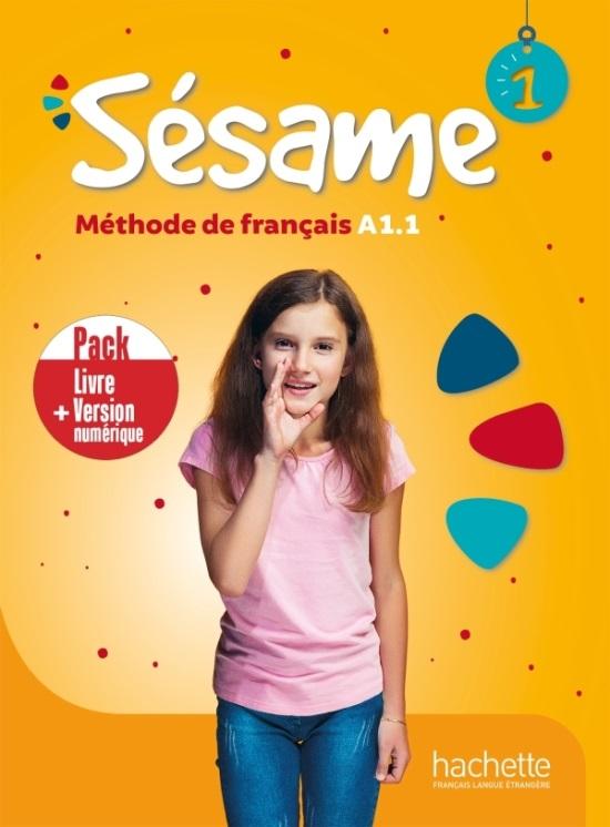 Sesame 1 - Pack Livre d'eleve+Version numerique