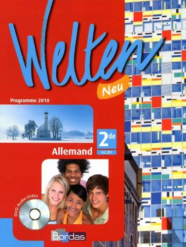 Allemand 2e, Welten Neu +CD