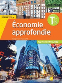 Specialite Economie approfondie  Tle ES