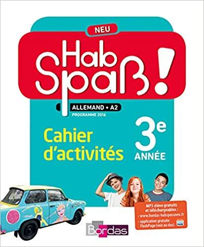 Hab Spass ! NEU 3e annee Cahier