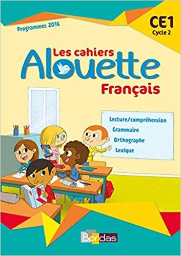 Alouette CE1 Cahier