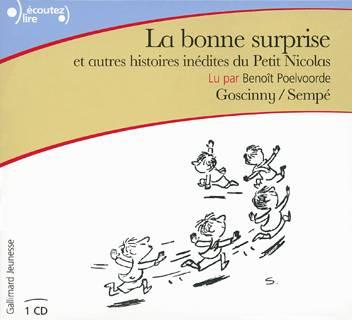 La bonne surprise et autres histoires inedites CD