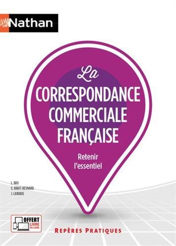 Correspondance commerciale francaise Ed 2017