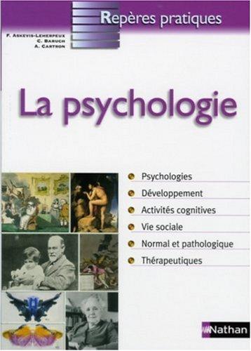 Reperes Pratiques  La Psycologie