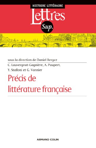 Precis de litterature francaise