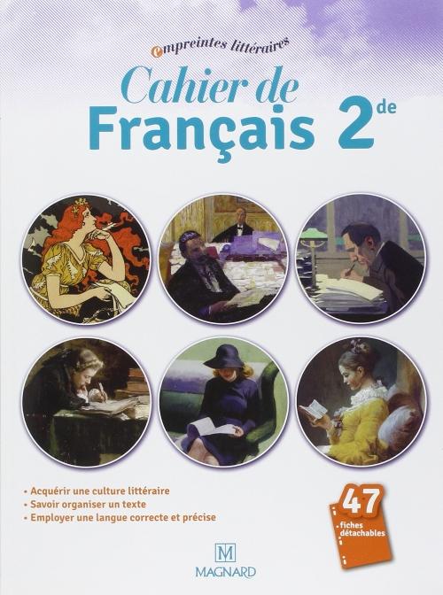 Cahier de francais 2e