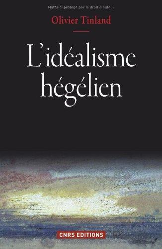 L'idealisme hegelien