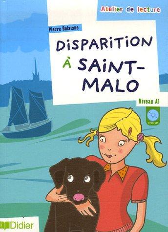 Disparition a Saint Malo Livre +CD - A1