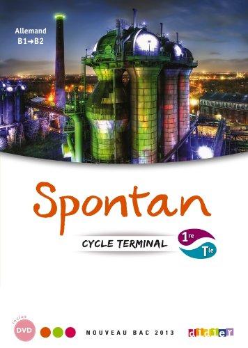 Spontan 1re Tle  Manuel + 2 DVDrom