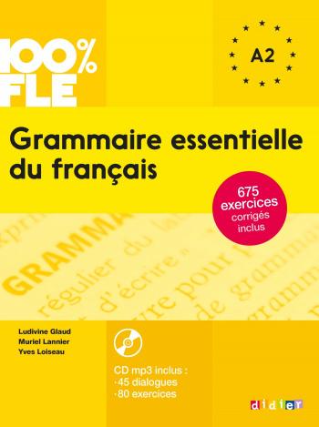 Grammaire essentielle du francais A2 - livre + CD
