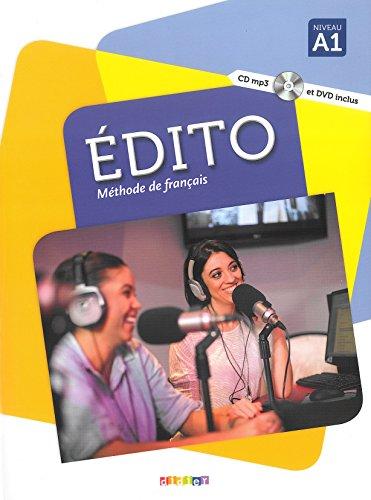 Edito A1 - Livre + CD + DVD