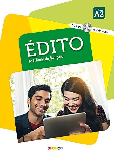 Edito A2 - Livre + CD + DVD