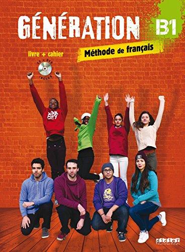 Generation B1 - Livre + cahier + CD mp3 + DVD
