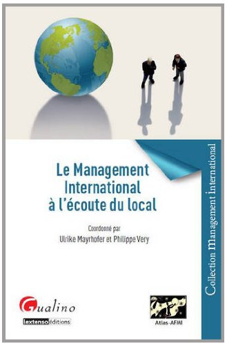 Le management international a l'ecoute du local