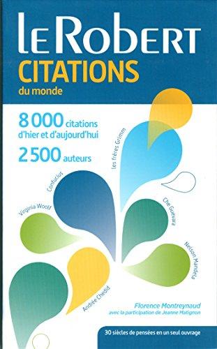 Dictionnaire des Citations du monde