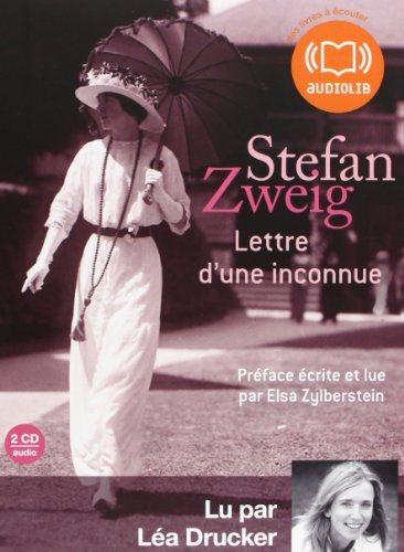 Lettre d'une inconnue (Zweig), CD audio