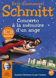 Concerto A La Memoire D'Un Ange 1 Audio CD (Schmitt)