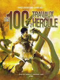 Les 100 travaux d'Hercule - livre-jeu