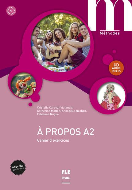 A propos A2 : Cahier+CD