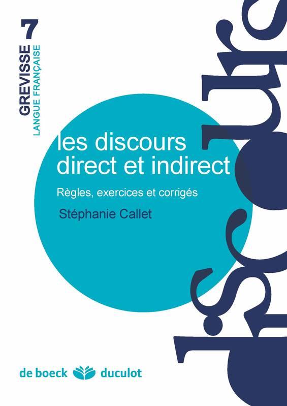 Les discours direct et indirect