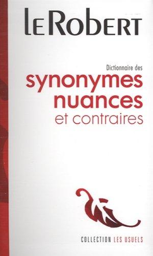 Dictionnaire de Synonymes et Nuances