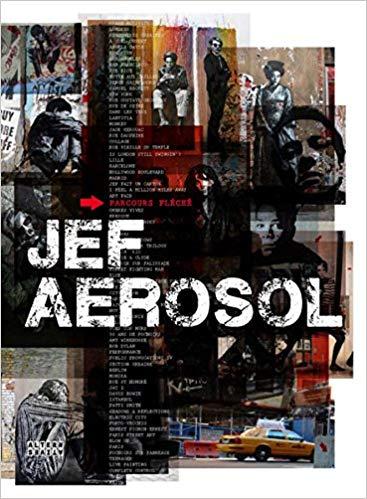 Jef Aerosol, parcours fleche