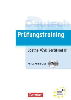 Pruefungstraining DaF B1 Goethe-(OeSD-Zertifikat