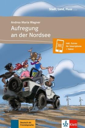 Aufregung in der Nordsee A1 Buch + Audio-online