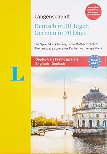 Langenscheidt Deutsch in 30 Tagen - Sprachkurs mit Buch, 2 Audio-CDs, 1 MP3-CD und MP3-Download