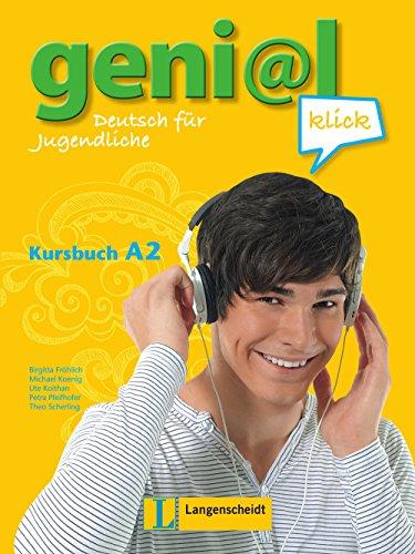 Geni@l klick A2 Kursbuch mit 2 Audio-CDs