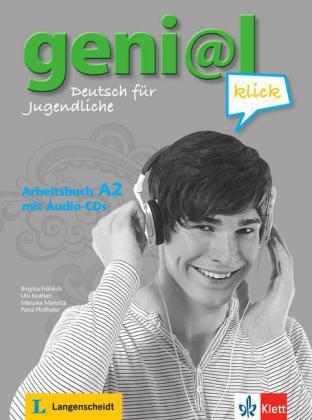 Geni@l klick A2 Arbeitsbuch mit 2 Audio-CDs