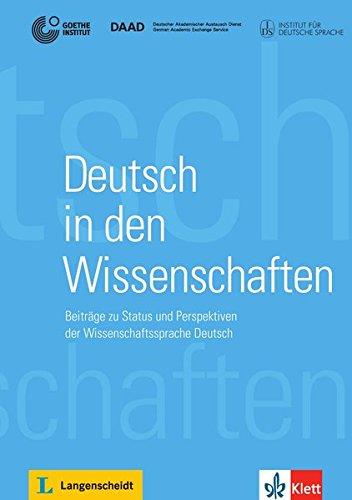 Deutsch in den Wissenschaften