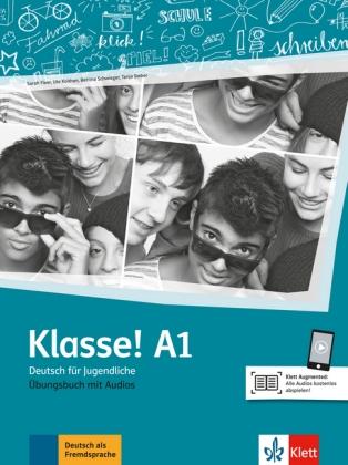 Klasse! A1 Uebungsbuch mit Audios